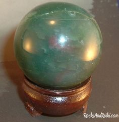 Another sphere, Agate Moss.
