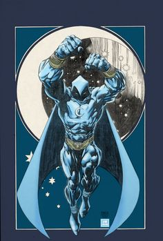 Moon Knight.... AWESOME ARTWORK!
