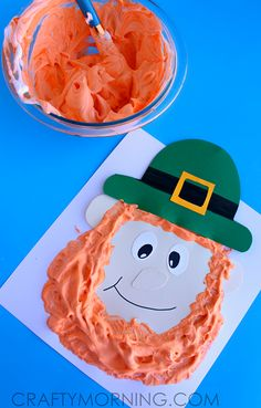 Puffy Paint Leprechaun Craft for Kids - Crafty Morning