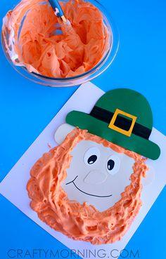 Puffy Paint Leprechaun Craft for Kids - Crafty Morning