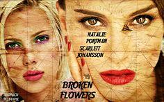 Broken Flowers - Natalie Portman. Scarlett Johansson. From The Films That Never Were. https://www.facebook.com/Shadrachart  ©shadrachdelmonte