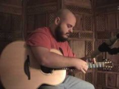 "▶ Andy McKee - Guitar - Drifting - www.candyrat.com - YouTube I saw this a number of years ago, just revisited it, and WOW! Over 50 million views! One of the earlier ""tap"" style guitar players."