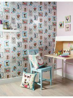 spelndid popular wallpaper designs. Wallpaper Designs  Ideas Room Kids Rooms We think our new Kerry Caffyn Dotty Dinosaur wallpaper design is