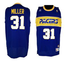 Buy Reggie Miller Swingman In Blue Mitchell And Ness NBA Indiana Pacers  Mens Throwback Jersey Lastest from Reliable Reggie Miller Swingman In Blue  Mitchell ... d90d7a647