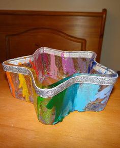 Plastic Decorative Bowls Diy Melted Crayon Decorative Bowls Amber's Craft A Week Blog