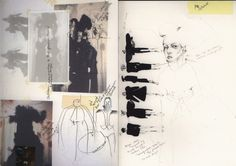 Fashion Sketchbook - fashion design sketches & silhouette development; fashion portfolio; the creative process // Kathryn Mcgee