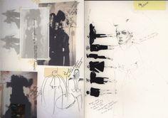 Fashion Sketchbook - fashion design sketches & silhouette development; fashion portfolio; the creative process // Kathryn Mcgee