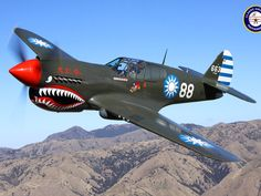 P-40 Warhawk | 40 Warhawk with Nationalist Chinese markings flown by the Flying ...