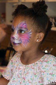 Kitty Face Paint, Cat Face, Eve Children, Kids, Child Face, Cat Party, Up Halloween, Face Art, Kitten