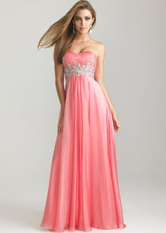 Formal Dresses | Top 5 long night dresses by la femme for winter formal prom 2013 ...