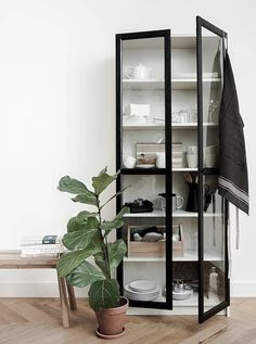 19 Ikea Billy Bookcase Hacks that are Bold and Beautiful - james and catrin - Home Decor -DIY - IKEA- Before After Billy Ikea Hack, Ikea Billy Bookcase Hack, Ikea Shelves, Best Ikea Hacks, Diy Hacks, Billy Bookcase With Doors, Billy Bookcases, Glass Bookcase, Homes
