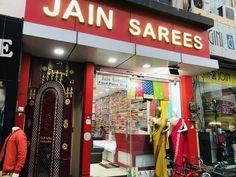 Exclusive Store in Sadar Bazaar, Jhansi Wedding Silk Saree, Trendy Sarees, Silk Sarees, Party Wear, Chiffon, Embroidery, Cotton, How To Wear, Design