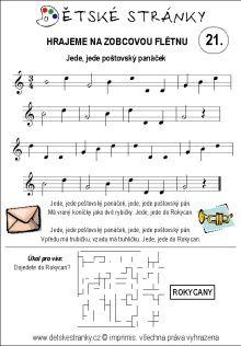 Lekce 21 Sheet Music, 21st, Music Sheets