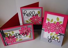 Julie Kettlewell - Stampin Up UK Independent Demonstrator - Order products Last bit of Crazy for a while! Crazy About You, Flower Patch, Cards For Friends, Flower Cards, Homemade Cards, Stampin Up Cards, Handmade Crafts, Note Cards, Cardmaking