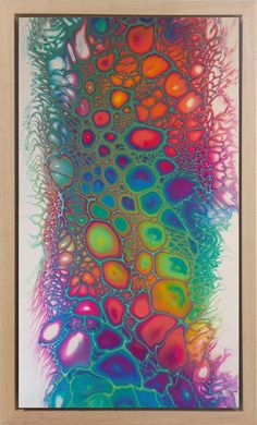 Bedazzled - by Maria Brookes, x 1000 mm Framed, Fluid Acrylic ArtAcrylic pour painting by Nicole Munday Flow Painting, Pour Painting, Silk Painting, Acrylic Pouring Art, Acrylic Art, Acrylic Liquid, Deco Originale, Alcohol Ink Art, Fluid Acrylics