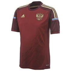 Adidas-Russia-RFU-H-JSY-World-Cup-WC-2014-Home-Soccer-Jersey-Brand-New-Maroon