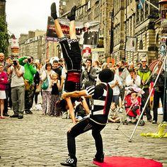 To visit The Edinburgh Fringe Festival in Scotland.