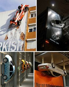 Guerilla Marketing With A Hemi: Wild Campaigns With Cars | WebUrbanist