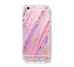 Abstract Pastel Watercolor iPhone 6s 6 Clear Case iPhone 6 plus Cover – Acyc