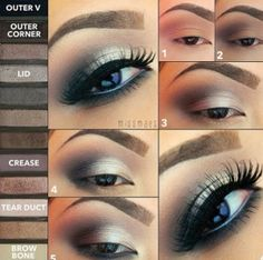Urban Decay Naked 2 Palette Look http://pinterest.com/shallmao/boards/
