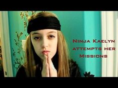 Ninja Kaelyn attempts some missions involving challenges! Will she complete her training missions? Love You So Much, Love Her, Seven Super Girls, Supergirl, Lol, Videos, Youtube, People, Ninja