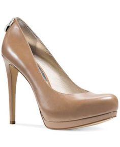 1d0e45bc02 MICHAEL Michael Kors Hamilton Platform Pumps & Reviews - Pumps - Shoes -  Macy's