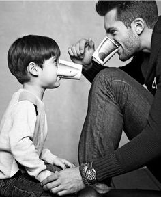 Papá es grandioso porque con el disfruto los momentos simples de la vida