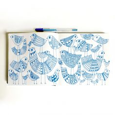 birds on birds - Lisa Congdon is an inspiration - So much wisdom and inspiration generously shared.
