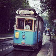 Stockholm, Sweden..  But, it's just like the Strassenbahn I rode in Heidelberg.