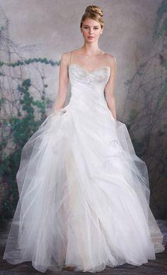 Wedding dress idea; Featured Dress: Jenny Lee