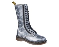 Dr Martens 9733 SILVER JEWEL - Doc Martens Boots and Shoes
