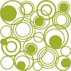 Silhouette Online Store - View Design #2330: circles multi square