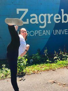 EUSA Combat Championships 2019🥋  Leider konnte sich unsere #Fernstudentin Katja in der #Karate-Vorrunde nicht gegen ihre Konkurrentin aus England durchsetzen, aber wir sind trotzdem stolz auf sie und freuen uns, dass sie in #Zagreb eine gute Zeit hatte.✌️😊 #fernstudium #eusa2019 #euckarate #adh #hochschulsport Karate, England, Hats, Fashion, Good Times, To Study, Proud Of You, Moda, Hat