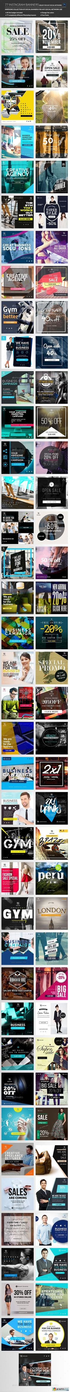 Instagram Banners Promo                                                       …