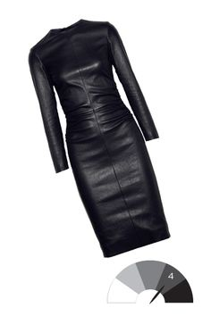 Ever since I saw that Madonna video off her Ray of Light album, I have wanted a leather dress...