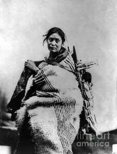 Navajo woman and child, by Granger - 1866