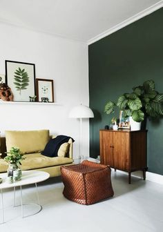 Going Green - Feature Wall