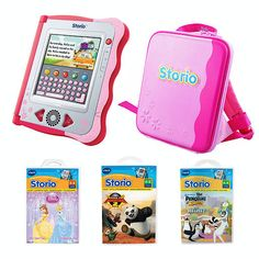 VTECH Storio Pink Interactive E-Reading Value WEB ONLY deal - but choose Click and Collect at the checkout to pick it up from your local store in 2 to 4 working days. Bring story time to life with the VTech Storio Pink Interactive E-Reading Value http://www.comparestoreprices.co.uk/educational-toys/vtech-storio-pink-interactive-e-reading-value.asp