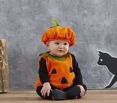 baby pumpkin costume pattern - Google Search