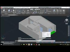 Spinner 3d en autocad, modelado y render (ejercicio 1) - YouTube