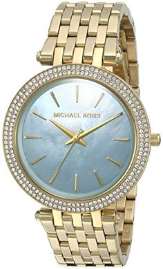 Michael Kors Womens Darci Stainless Steel Casual Watch Model MK3498 >>> Check out this great product.