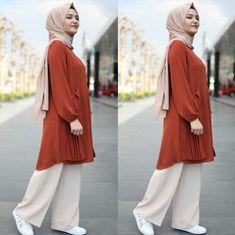 Muslim Fashion, Hijab Fashion, Skirt Fashion, Fashion Dresses, Hijab Style, Mode Hijab, Hijab Outfit, Pakistani Dresses, Workout Challenge