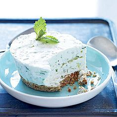 Frozen Mojito Cake-tails -- Your #1 favorite frozen treat is a little bit naughty and a little bit nice.