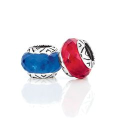 Blue and red beads this and more ... here we go....