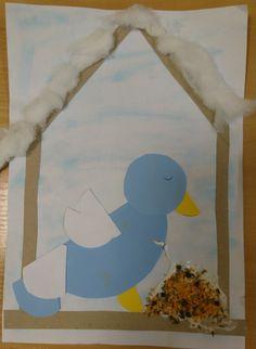 Karmnik ptak ziarna z przypraw praca plastyczna DIY ART ACTIVITIES FOR KIDS