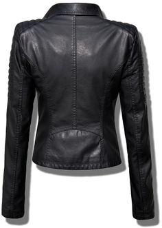 EKSKLUZYWNA KURTKA DAMSKA RAMONESKA MOTO - WOMENS BIKER JACKET model #70 w sklepie FASHIONAVENUE.PL Motorbike Jackets, Leather Jacket, Coats, My Style, Stylish, Fashion Design, Clothes, Jackets, Clothing
