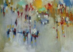 "Saatchi Online Artist corinna wagner; Painting, ""the days in the valley beneath"" #art"