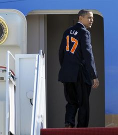 Obama caught the #Linsanity