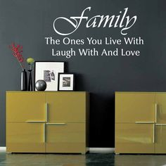 family wall decal quote  vinyl wall art  vinyl wall by OhMyWall, $49.00