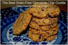 Happy-House Chocolate Chip Cookies (The BEST Grain-Free Chocolate Chip Cookie) from SatisfyingEats.com